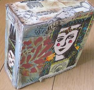 Mixed Media Box Canvas2