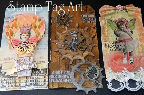 2013 ホビーショー ミニ講習 stamp_tag_art